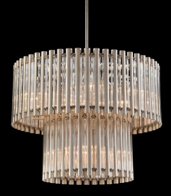 CHANDELIER CRYSTAL TUBE 9L