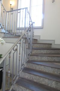 STEEL STAIR RAILINGS