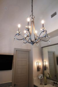 CORSO CHANDELIER WITH CRYSTAL