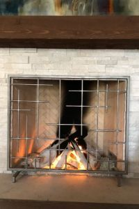FIREPLACE SCREEN NIZA