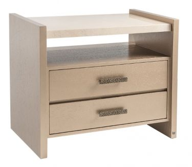 NIGHTSTAND   AFRICA WITH MARBLE 420 32W 20D 27H