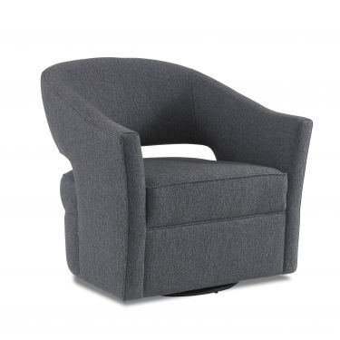 SIDE CHAIR LUNA SWIVEL 33W 33D 32H