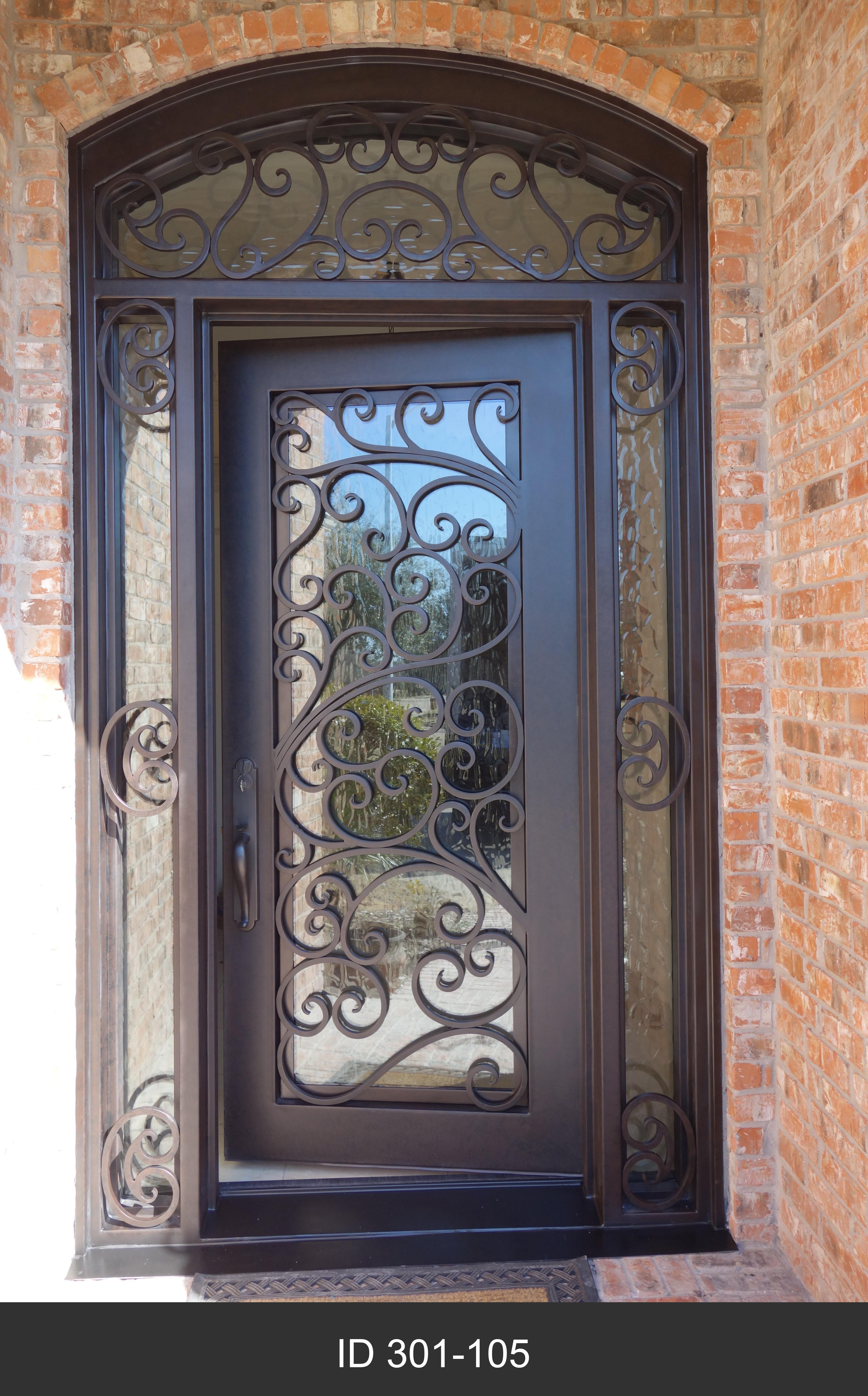 Classic Single Iron Doors D Hierro Iron Doors Plano Tx