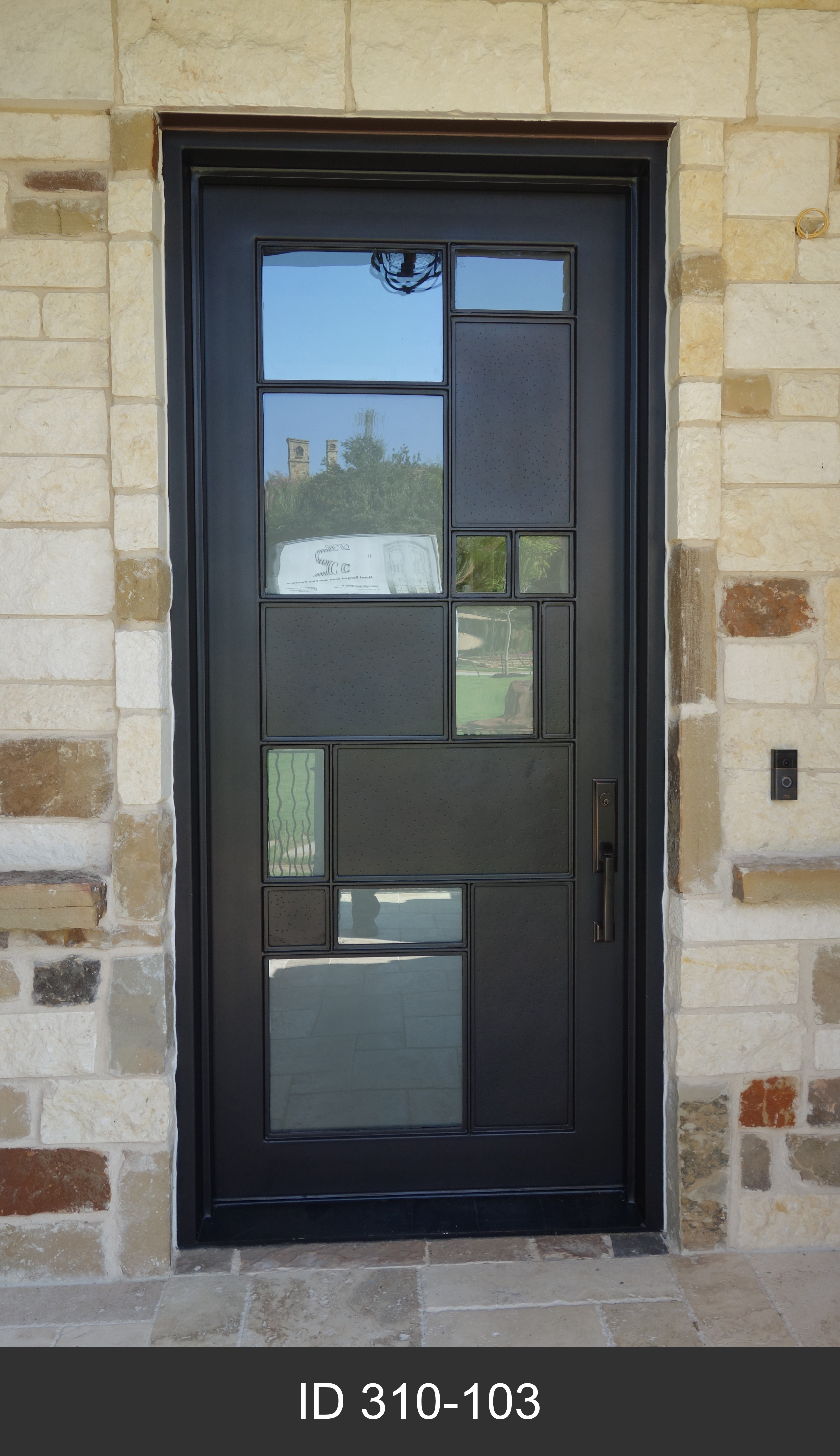 Modern Single Iron Doors D Hierro Iron Doors Plano Tx