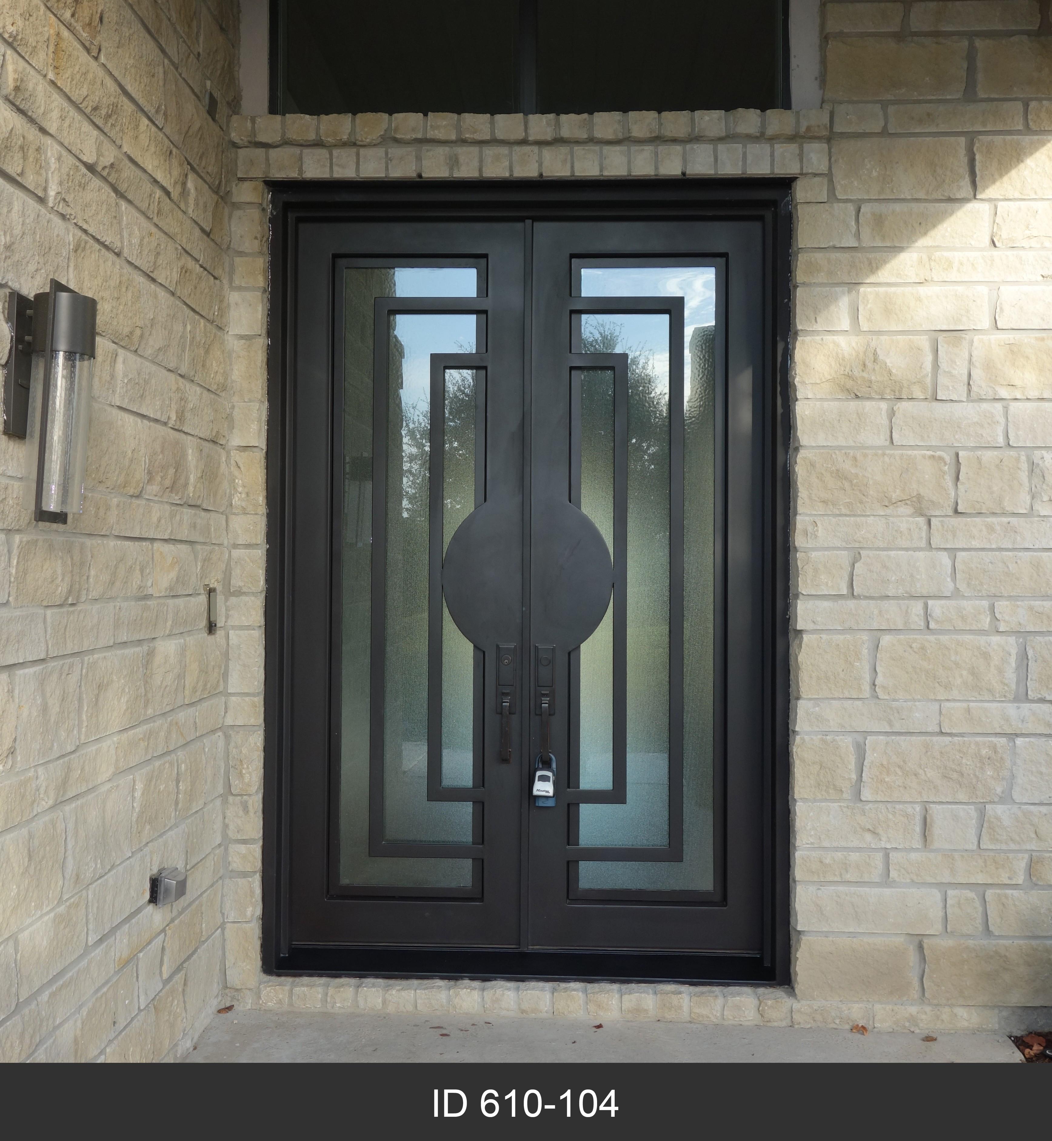 Modern Double Iron Doors D Hierro Iron Doors Plano Tx