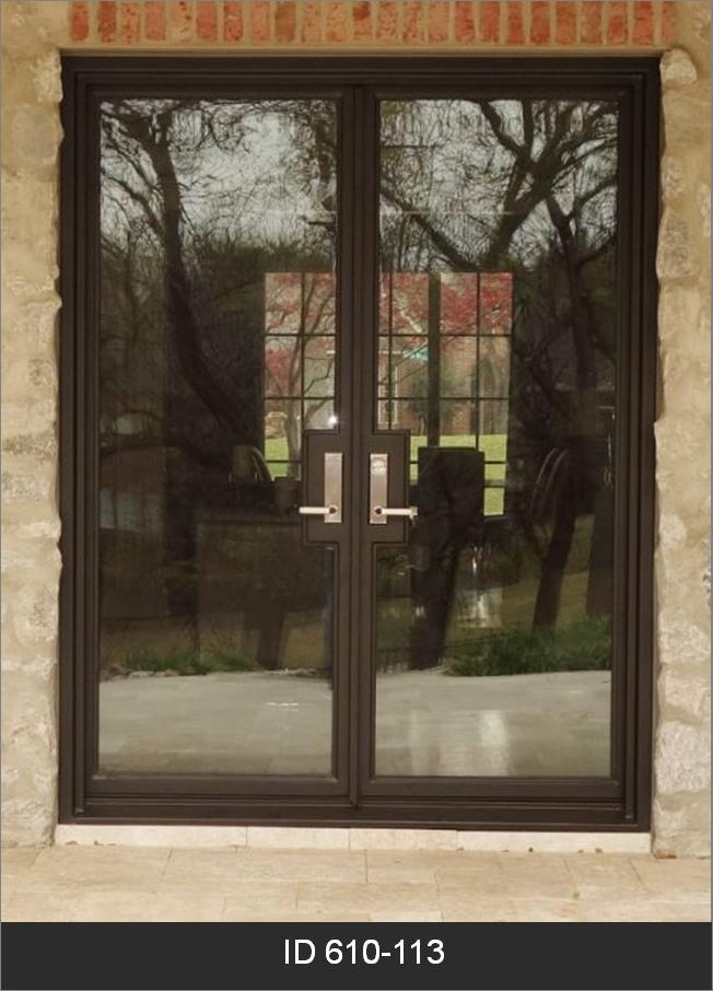 modern double iron doors dhierro iron doors plano tx