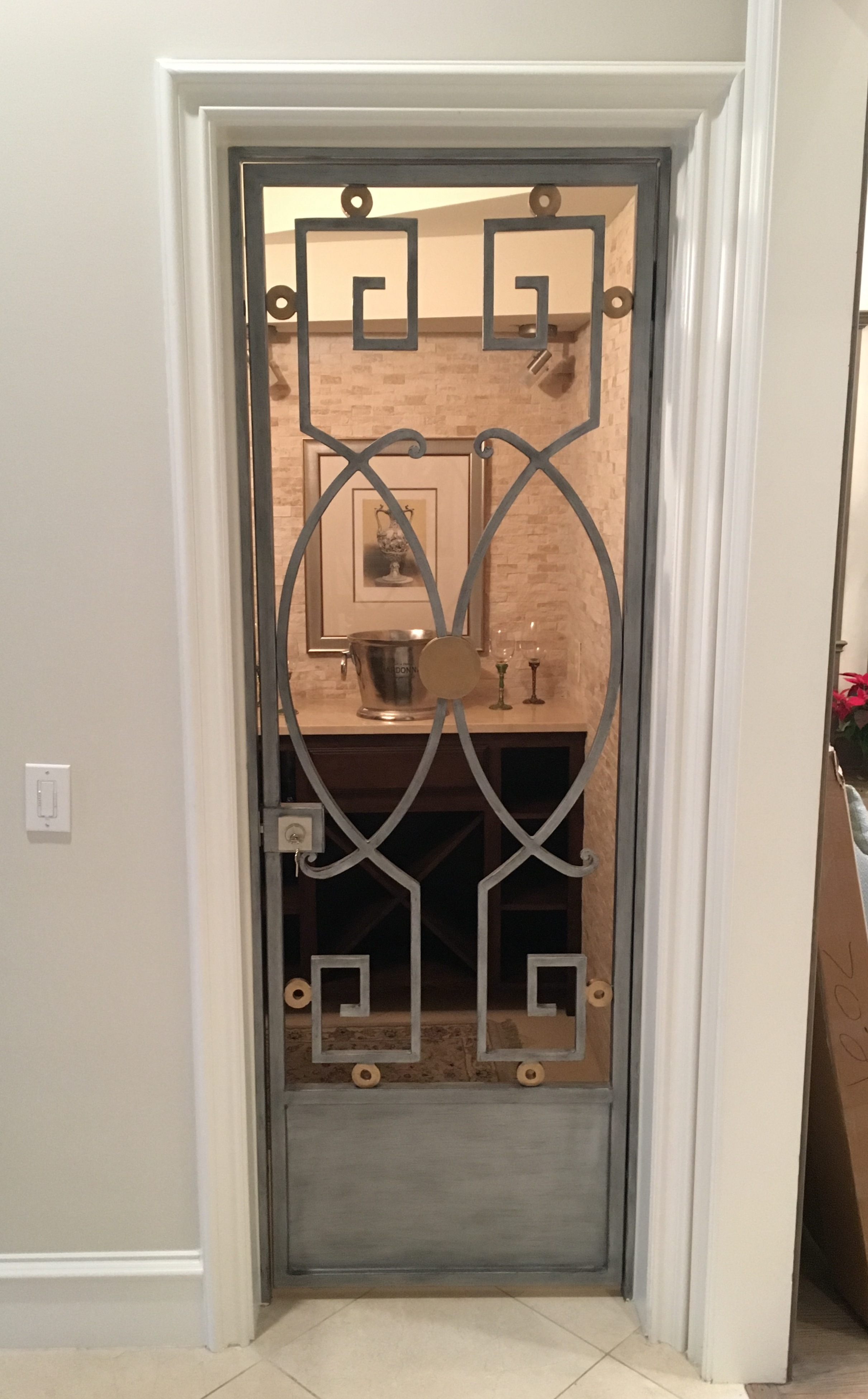 WINE CELLAR DOORS & WINE CELLAR DOORS - D\u0027Hierro Iron Doors Plano TX